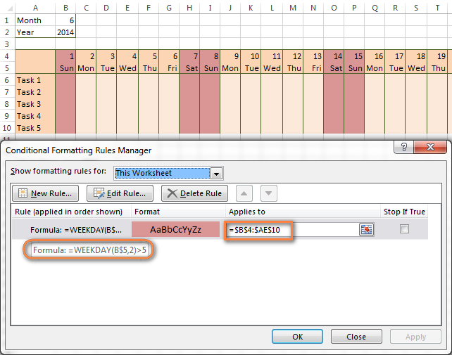 Excel Conditional Formatting For Dates Amp Time Formula