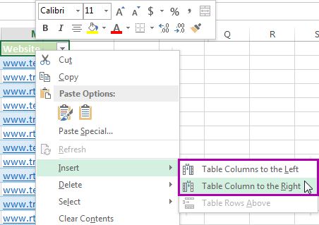 5 ways to insert new columns in excel shortcut insert multiple vba macro and more - How to add a column in a table ...