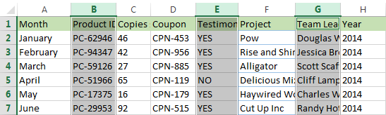 5 ways to insert new columns in Excel: shortcut, insert multiple
