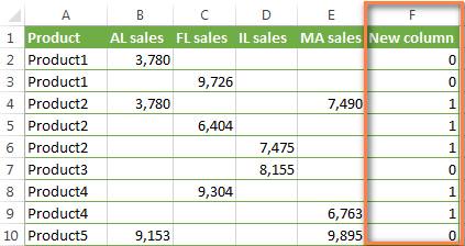 Create an additional column on which the conditional formatting rule will be based.