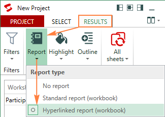 A detailed difference repot in a separate workbook