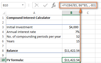 Calculation of interest / charibas.ga