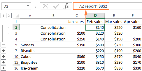 math worksheet : consolidate in excel merge multiple sheets into one : Consolidate Data In Multiple Worksheets