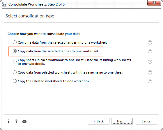 Consolidate in Excel Merge multiple sheets into one – Combine Multiple Excel Worksheets into One