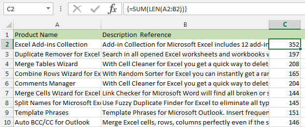 Excel Count Cells With Text And Characters