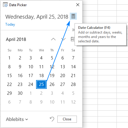 Date Calculator for Excel
