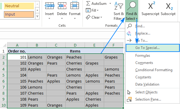 How To Remove Blank Cells In Excel
