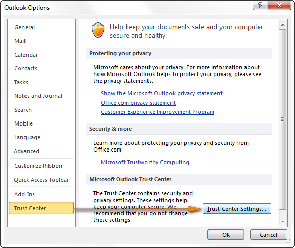Email encryption in Outlook - how to encrypt messages with