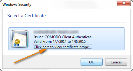 View the Certificate properties to find out whether the certificate is valid for digital signing or encryption.