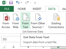 Use data import wizard
