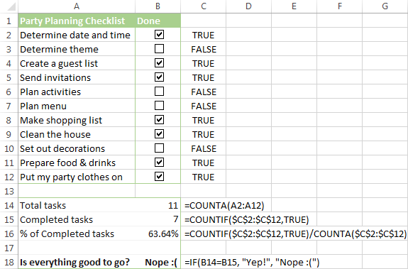 to do excel