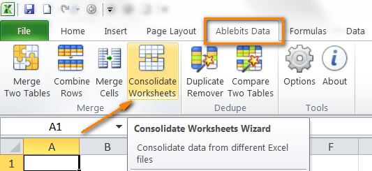 Combine worksheets of same name into one Excel spreadsheet – Consolidate Multiple Worksheets