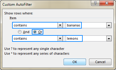 Excel Filter: How to add, use and remove