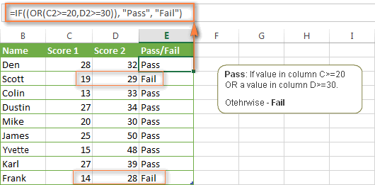 Excel If Statement With Multiple And Or Conditions Nested If Formulas Etc