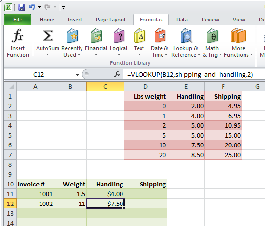 Lookup functions in Excel: vlookup and hlookup how-to