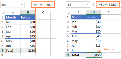 excel offset function formula examples and uses