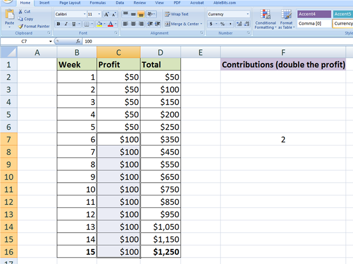 How to use Paste Special in Excel: values, formats, column widths