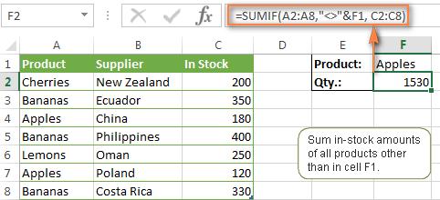 Having a little Excel formula problem?