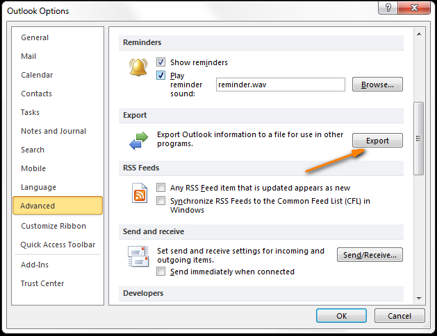 address book in outlook 2013