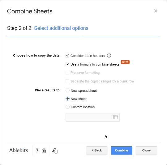 Tweak additional settings.