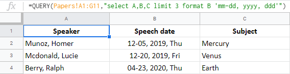 Format values right through QUERY function in Google Sheets.