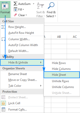 How to Hide & Unhide Cells in Excel | It Still Works