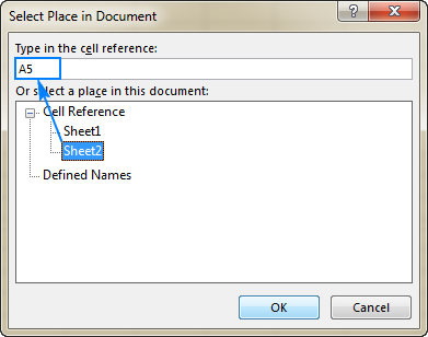 Hyperlink in Excel: how to create, edit and remove