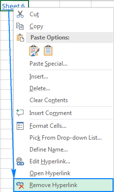 Hyperlink in excel how to create edit and remove removing a hyperlink in excel ccuart Images