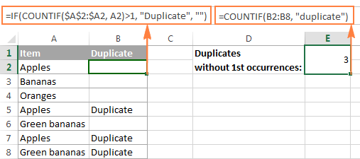 Count the total number of duplicates in a column.