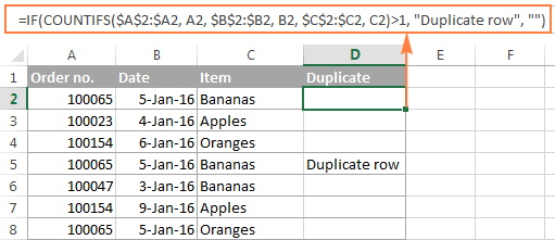 Show duplicate rows without 1st occurrences.