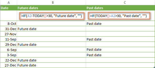 How To Use If Function In Excel Exles For Text Numbers Dates. Advanced If Formulas For Future And Past Dates. Worksheet. Excel Vba Worksheetfunction Days360 At Mspartners.co
