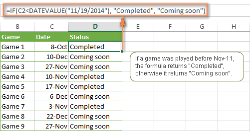 Excel formula: if else | exceljet.