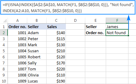 Using If with Index Match to do left lookup without N/A errors