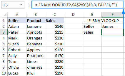 If Vlookup formula: if not found return blank (empty string)
