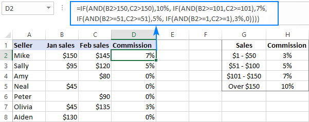 excel nested if statements examples best practices and