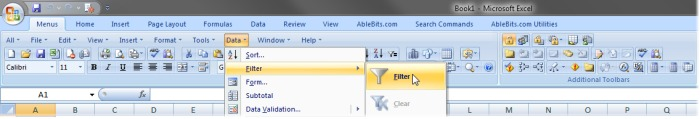 Classic Menu add-in for Office 2010-2007