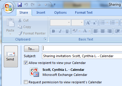 Outlook Calendar Sharing.How To Share Calendar In Outlook Email It And Publish To Office Online