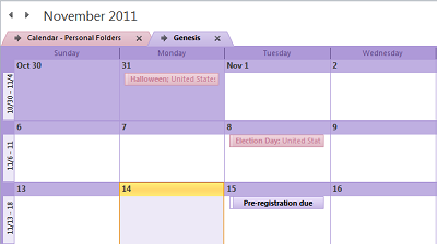 Overlaid Calendar Will Look Like This