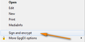 Sign and Encrypt the zipped file.