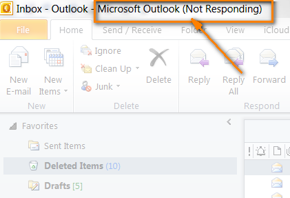 Outlook Not Responding – solutions for Outlook hanging and freezing