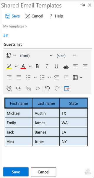 The formatted table with highlighting and alignment applied.