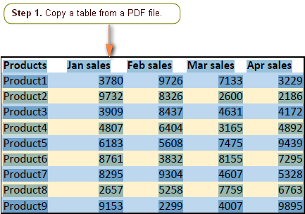 Convert Pdf To Excel Without