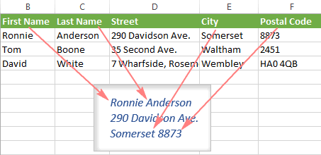 Mail Merge Labels From Excel