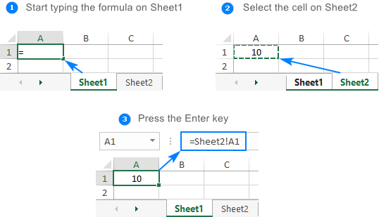 Reference another sheet in Excel