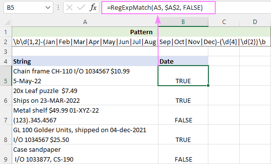 Regex for case insensitive matching