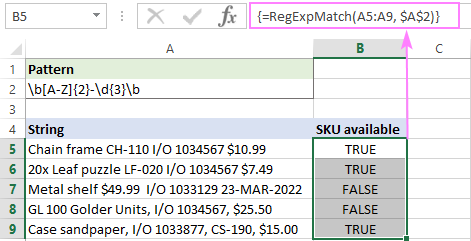 Matching multiple cells in Excel 2019 and earlier