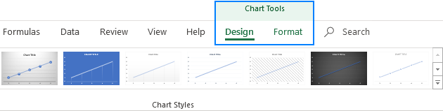 Contextual ribbon tabs in Excel