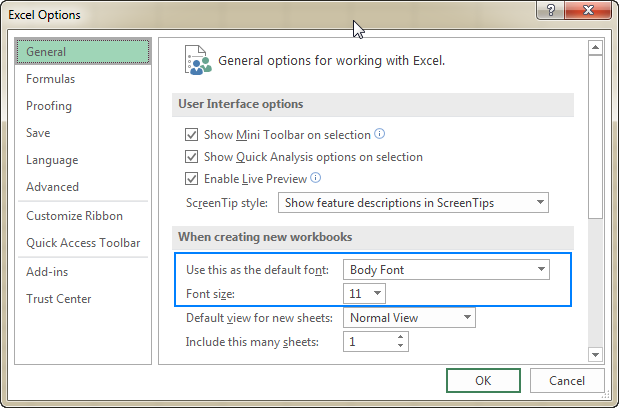 Excel row height: how to change and AutoFit