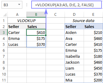 Resolving a SPILL error with Excel VLOOKUP