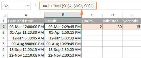 Subtract dates in Excel
